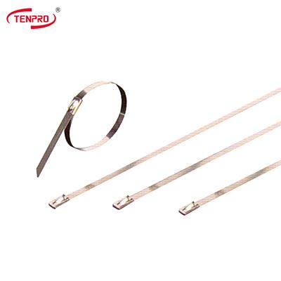 TSR不锈钢扎带(钢珠自锁式